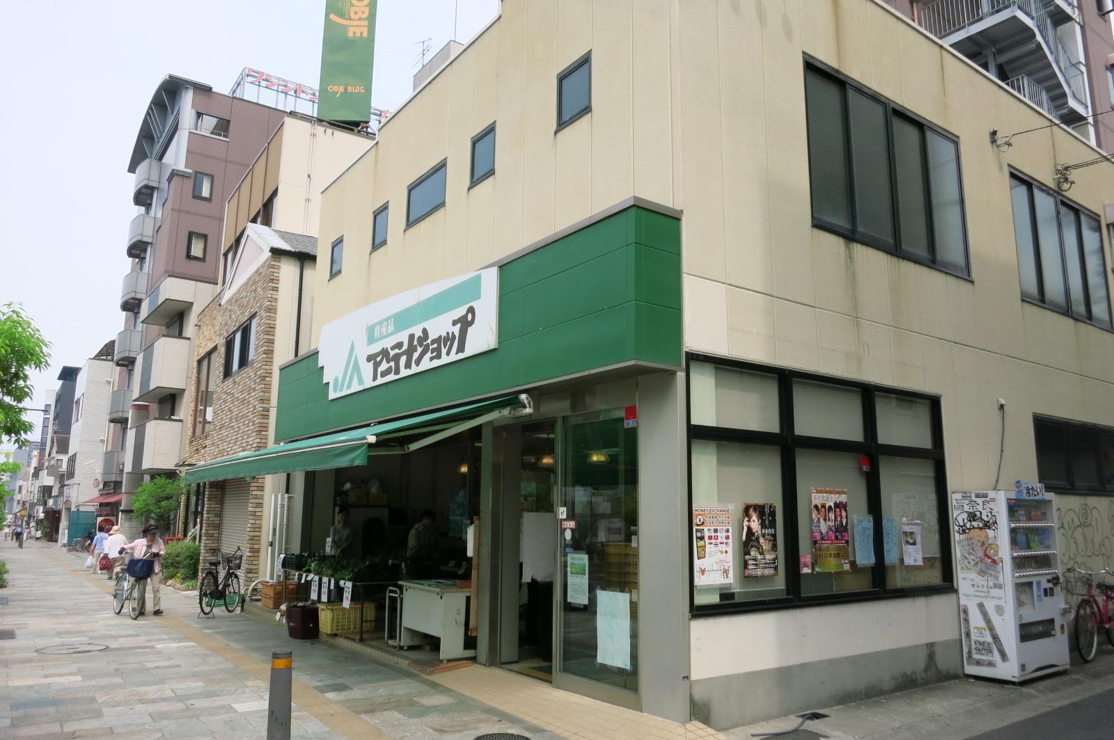アンテナショップには、奈良の特産品が数多く販売されていました。