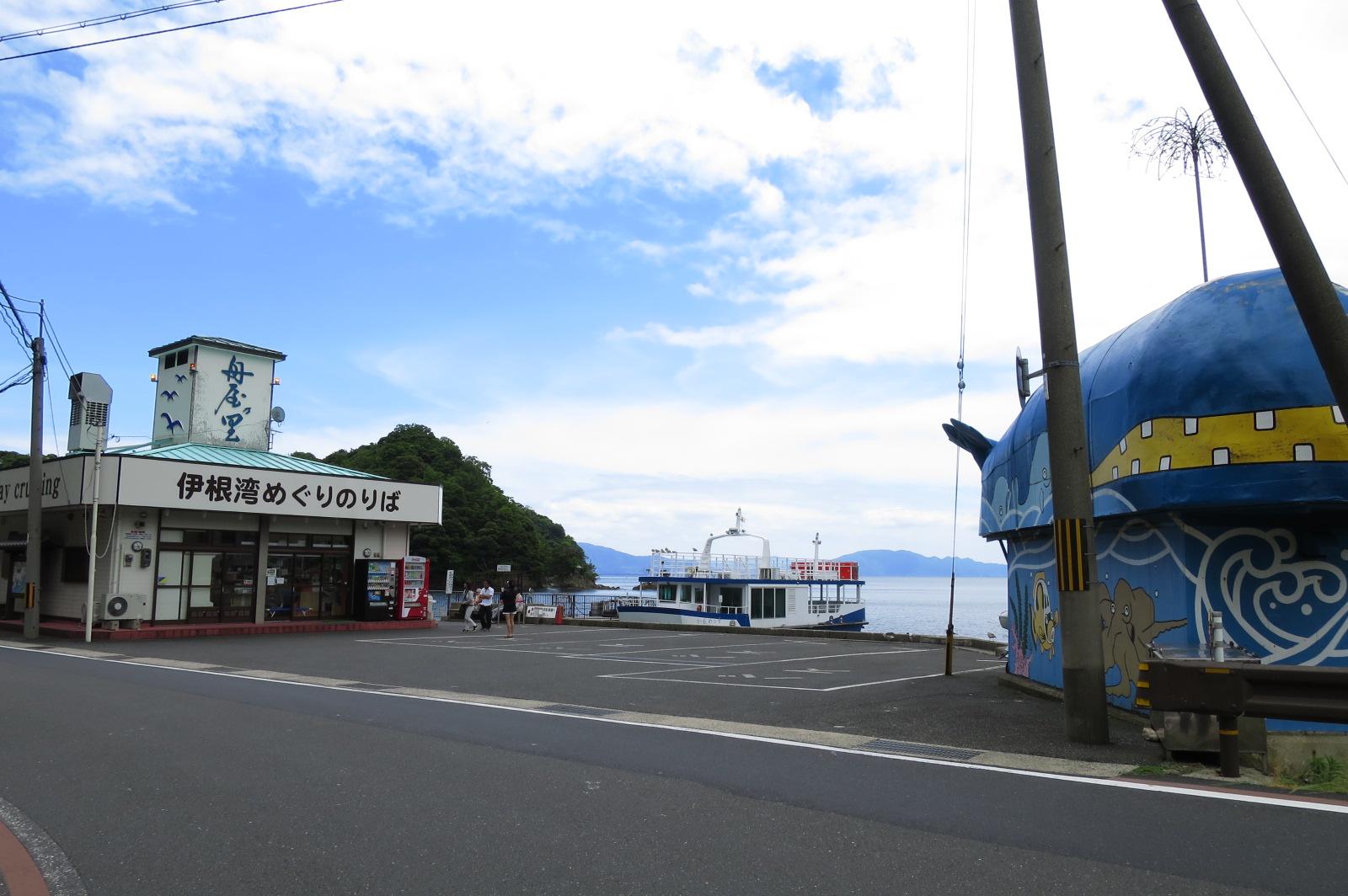 伊勢湾めぐり遊覧船のりば。大人680円、子供340円とリーズナブルです。