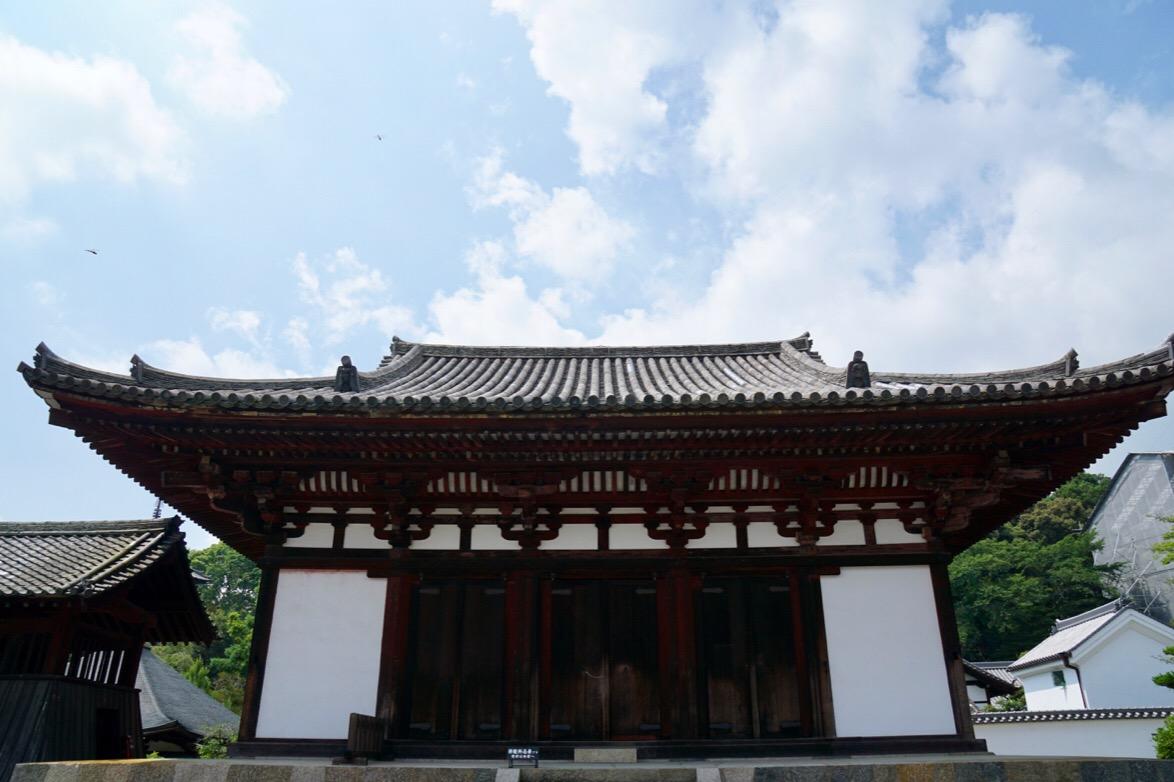 金堂。鎌倉時代のもの。