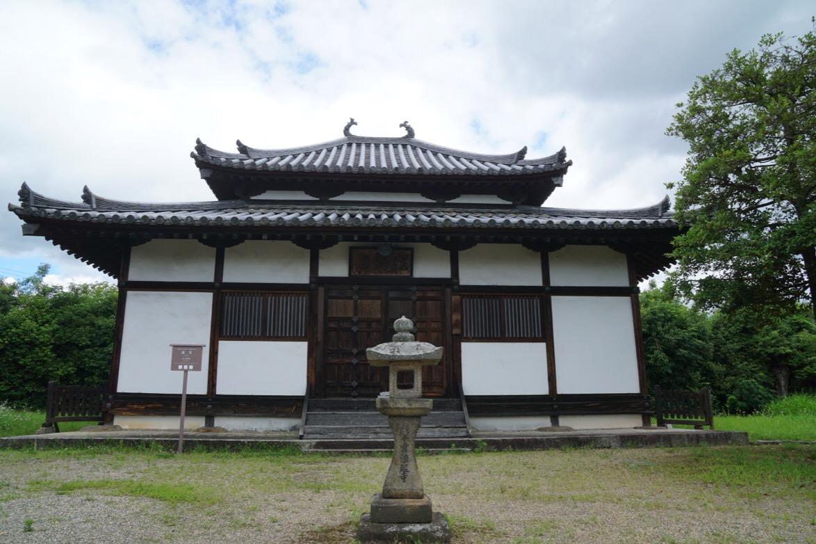 講堂。江戸時代のものです。