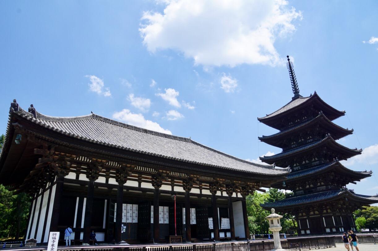 金堂と東大寺