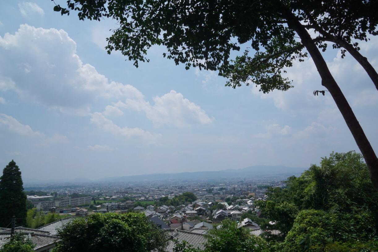 白毫寺からの眺めも素晴らしいです。