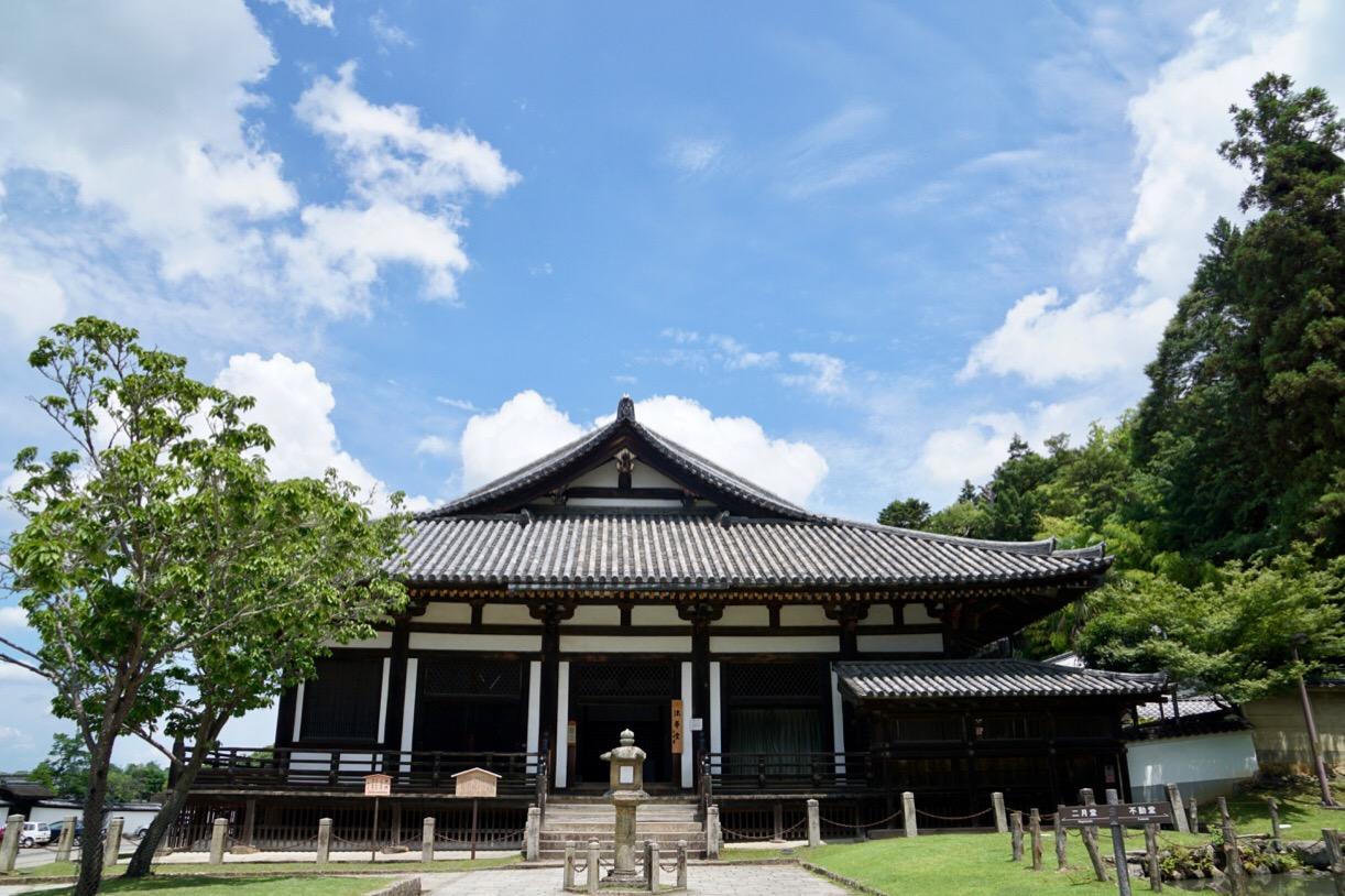 東大寺法華堂をみにいきます。