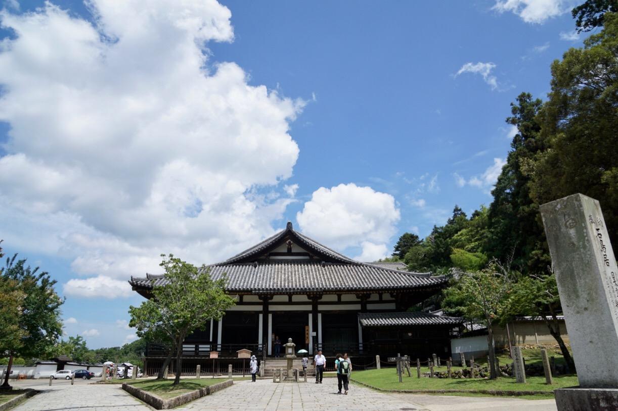 東大寺法華堂です。