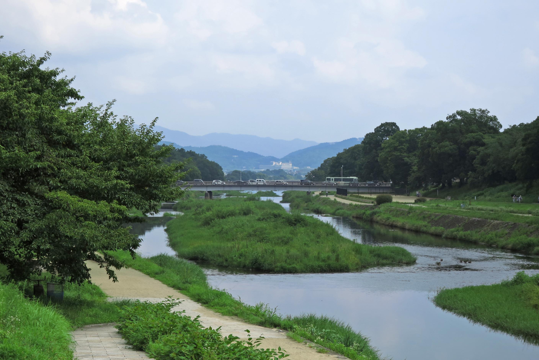 京都駅も近いこの場所に、これだけの景観を維持してきたことに驚かされます。住んでみたいですね。。。