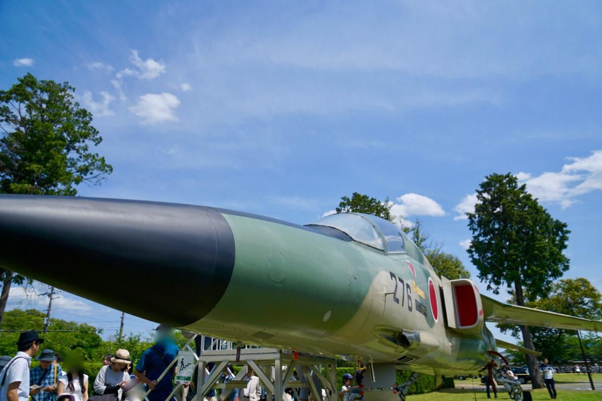 古い戦闘機です。オリジナルのクリアファイルなども配られていました。