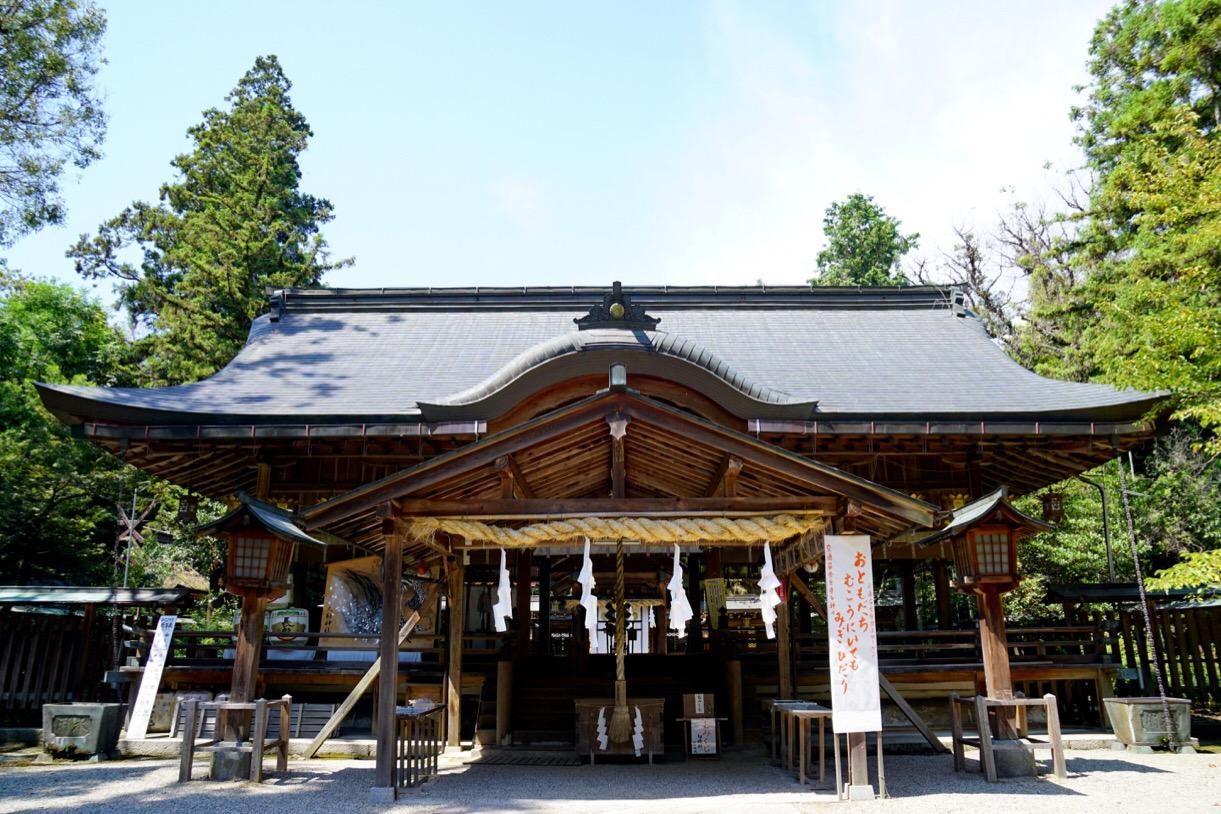 戦艦大和のゆかりの神社です。