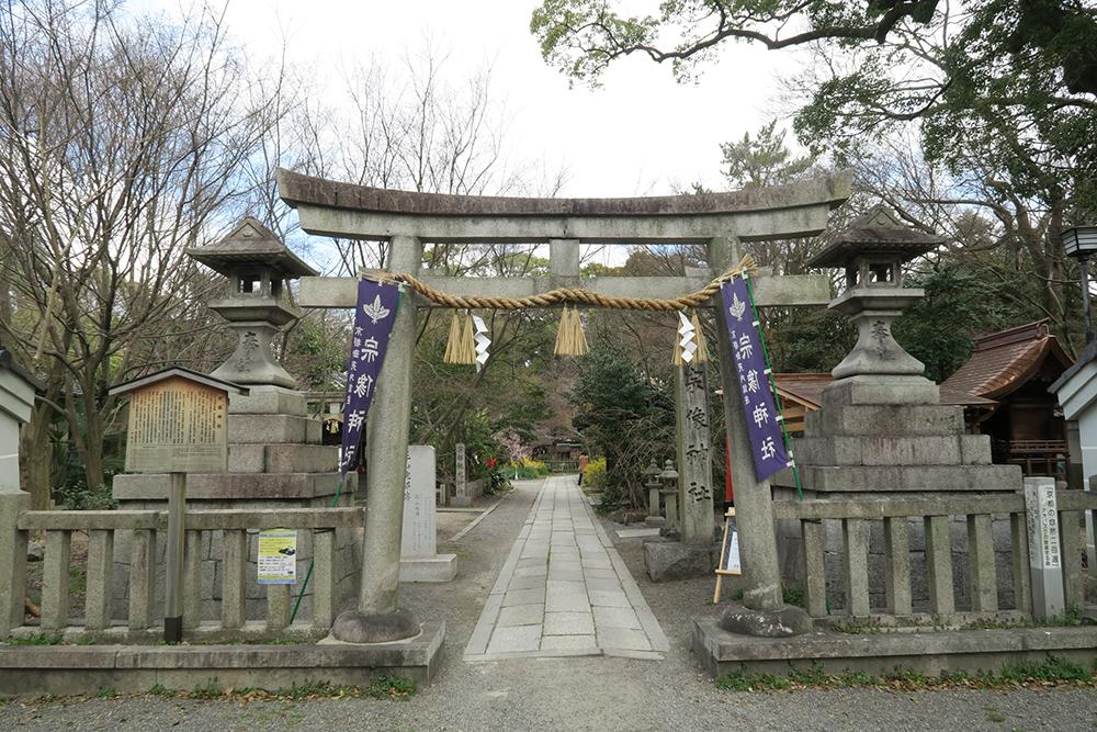 宗像(むなかた)神社。ひとつひとつの造りが丁寧で、見ごたえあります。