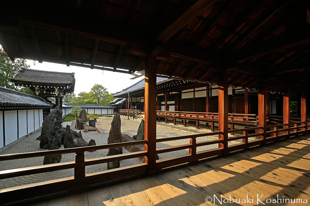 東福寺本坊庭園・南庭。