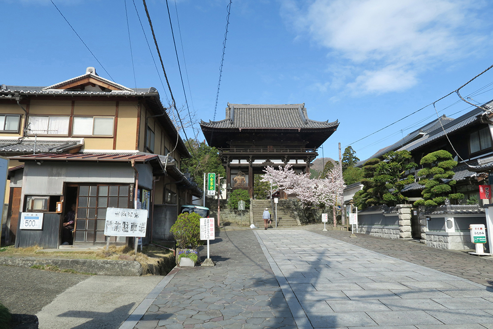 當麻寺に到着。天気もよくて清々しい気持ちです。