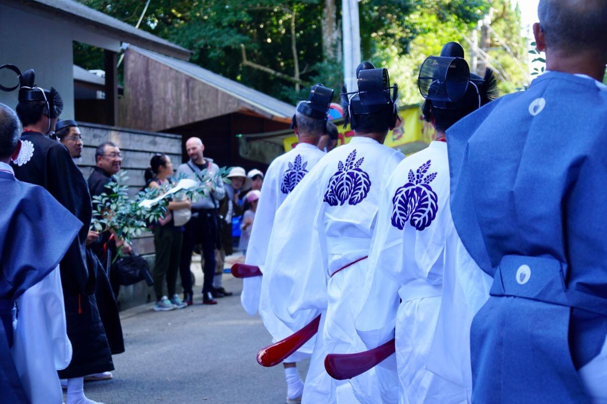 火祭りは奈良県無形民俗文化財に指定されています。