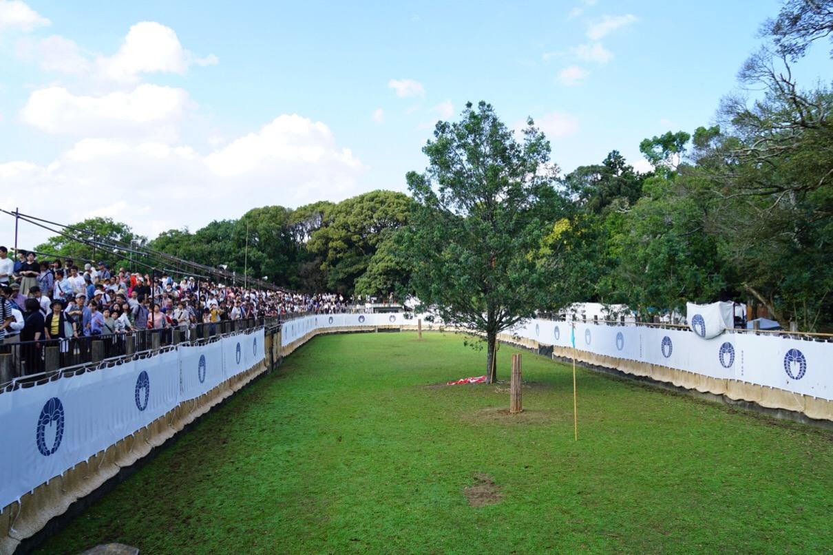 競技場スタイルで観客が700人入るそうです。