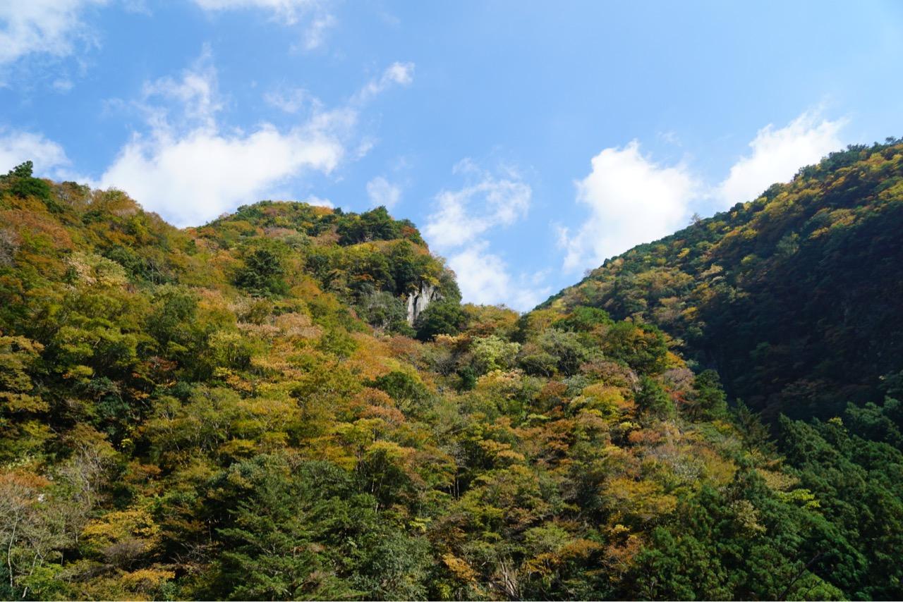 秋の紅葉の季節が最も美しいと言われています。
