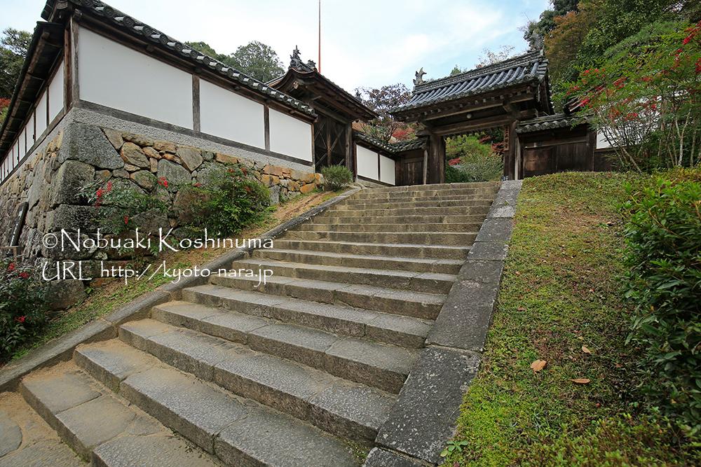 階段を上がって福寿院へ。