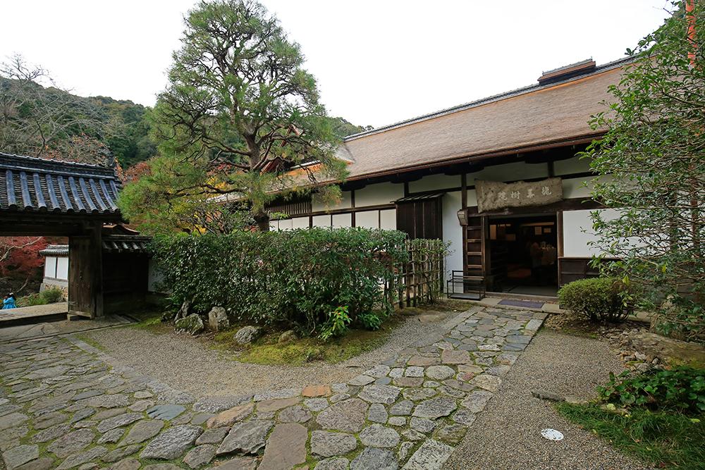 福寿院客殿の入口です。