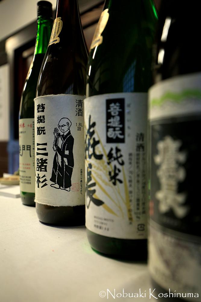 福寿院客殿の建物の中に入ると、お酒が売られています。お好きな方はぜひお試しください!