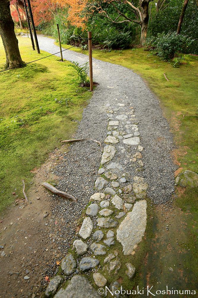 石畳が少しずつ消えていく構成になっていました。永遠ではない命を表しているようにも見えます。。。