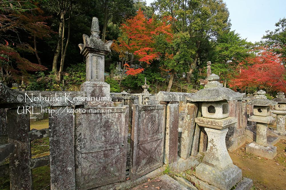 湛空廟に向かう途中にあるお墓。