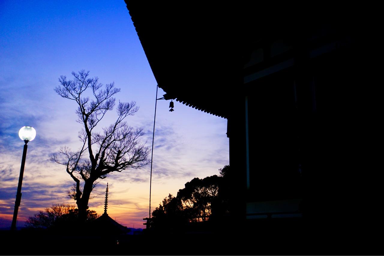 とても綺麗な夕陽でした。