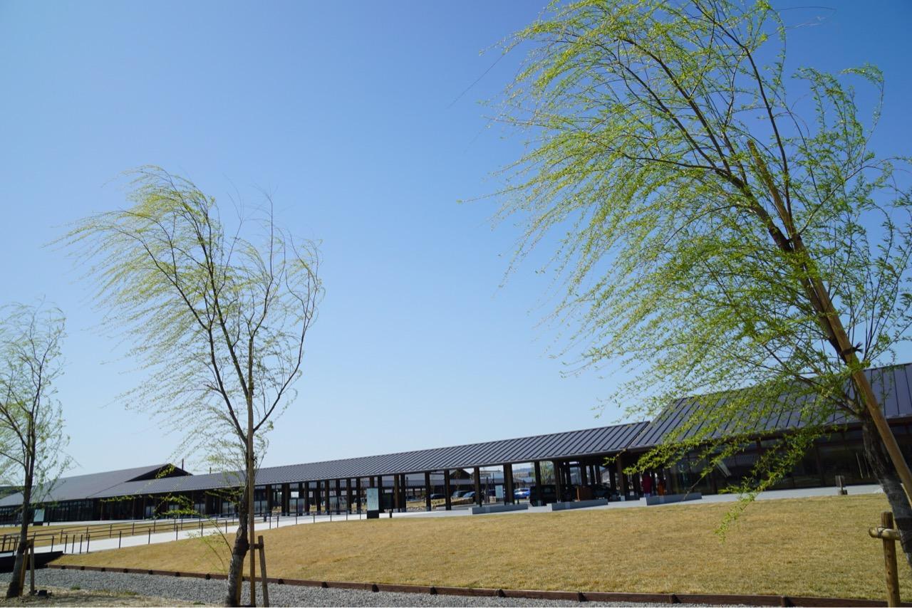 新しくオープンした施設です。オシャレでした。うどん職人は帰省中とかでうどん無しでした。