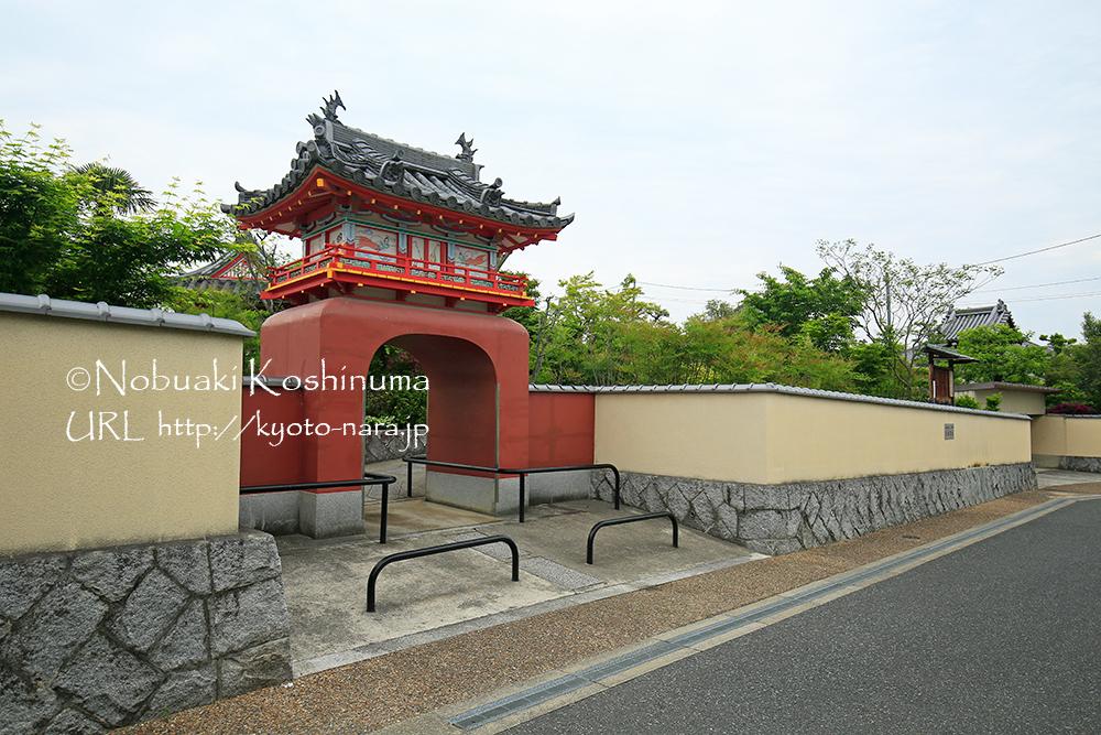 郡山高校の近くにある永慶寺(えいけいじ)。