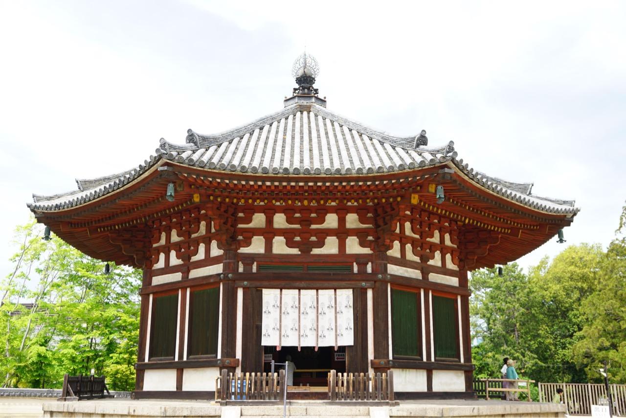 北円堂 公開されていました。