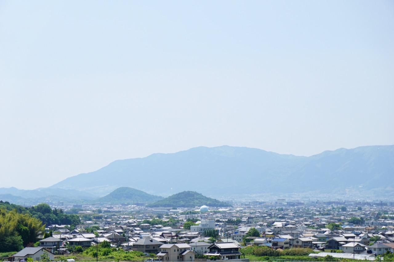 大和三山が一望できます。