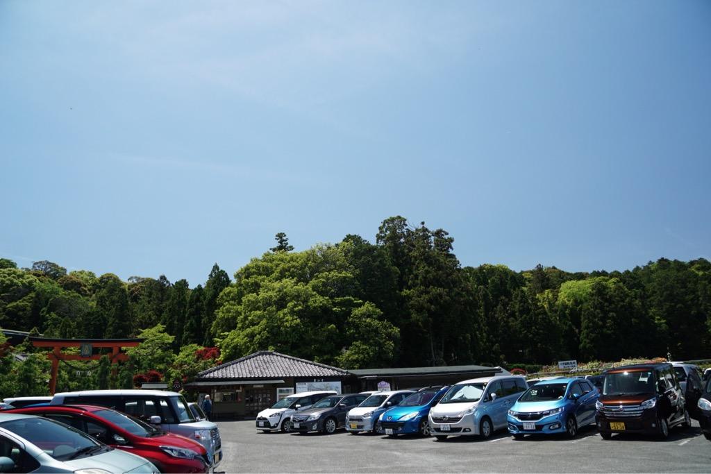 駐車場もたくさんあります。