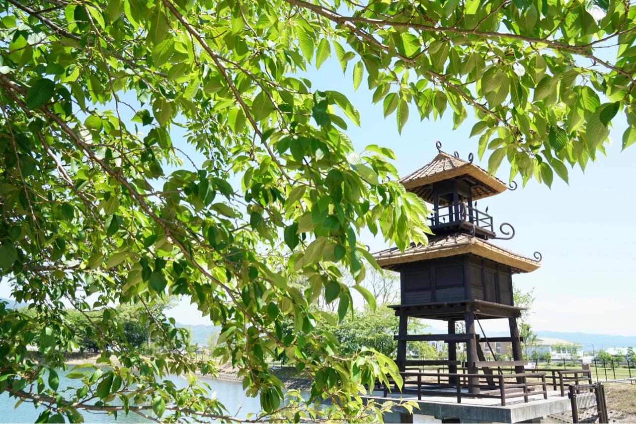 2018年4月に唐古・鍵史跡公園として整備されオープンしたところです。