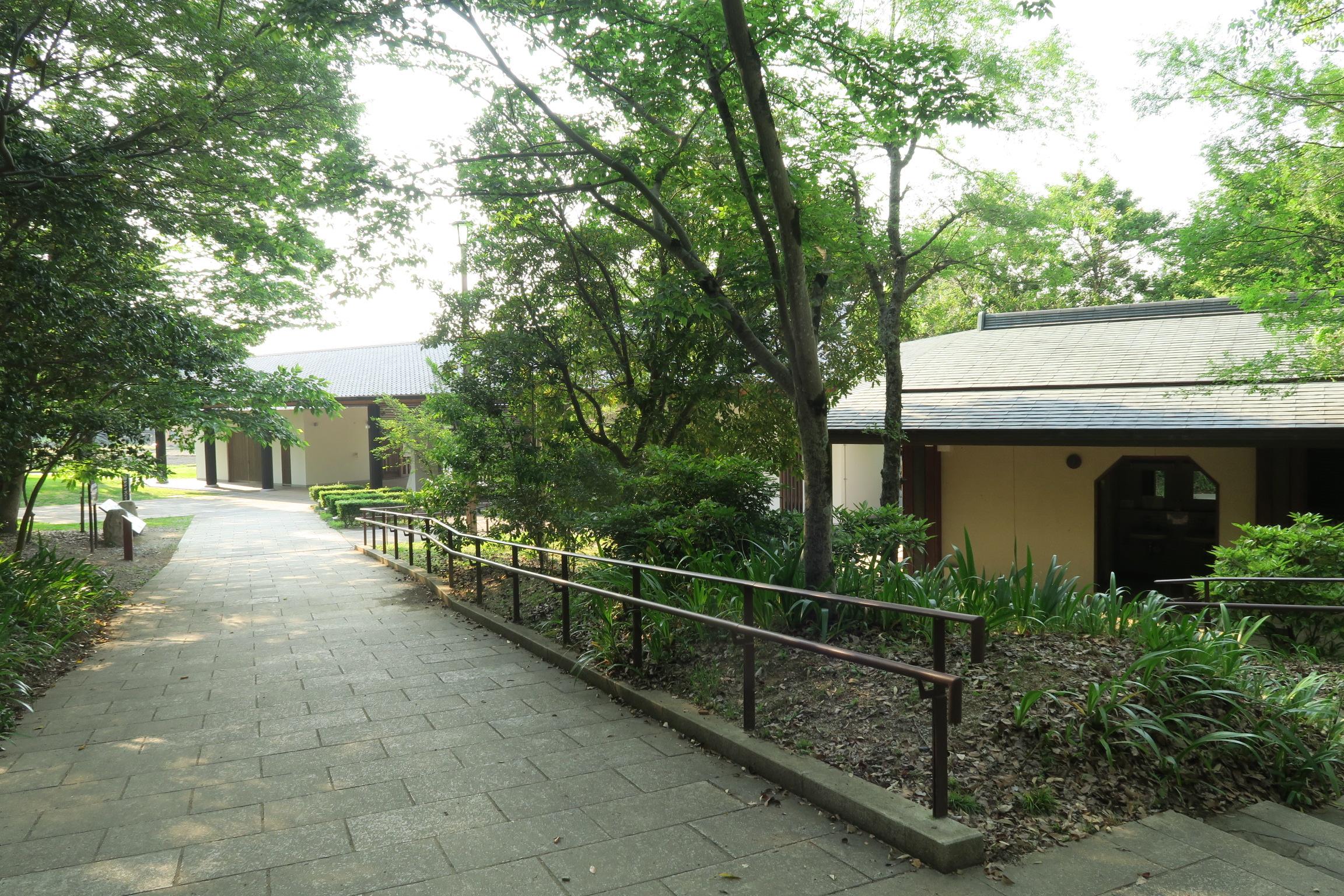豊浦休憩所。ちなみにココのトイレが一番きれいです。