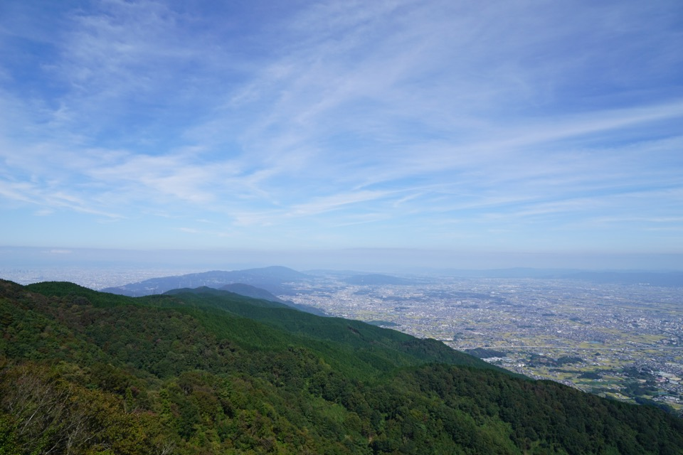 田んぼと貯水、そして大和三山が綺麗でした。