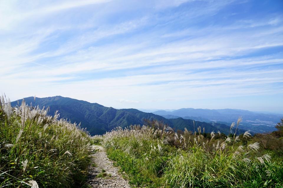 二上山など北の山々を見渡すことができます。