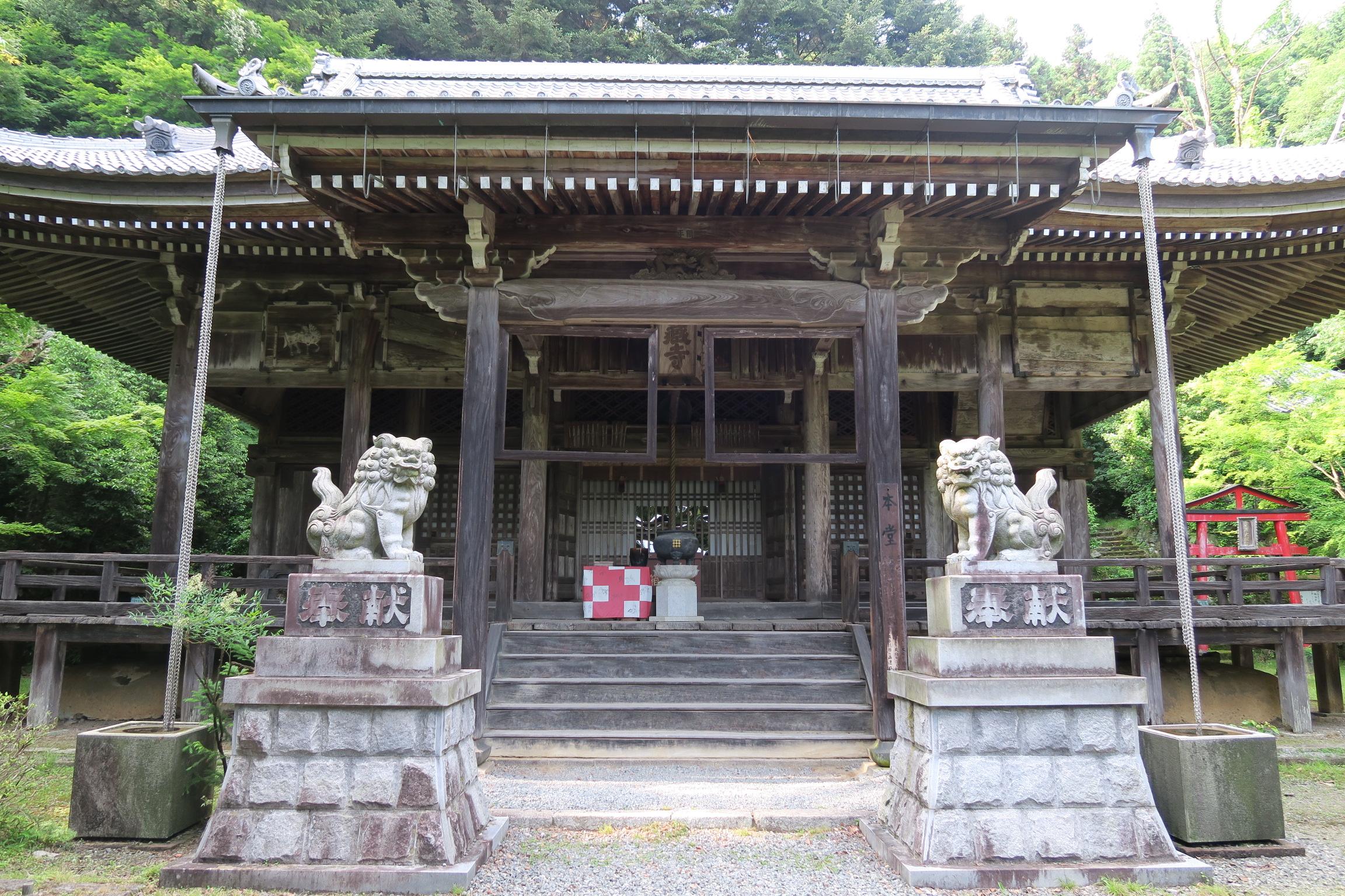金蔵寺本堂。