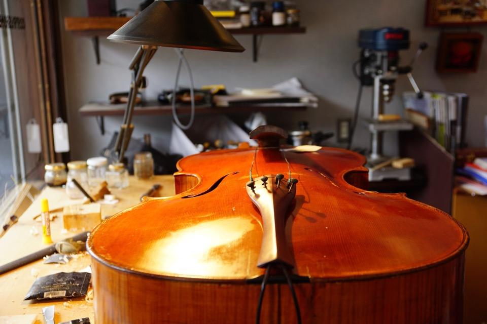 楽器って綺麗ですね。