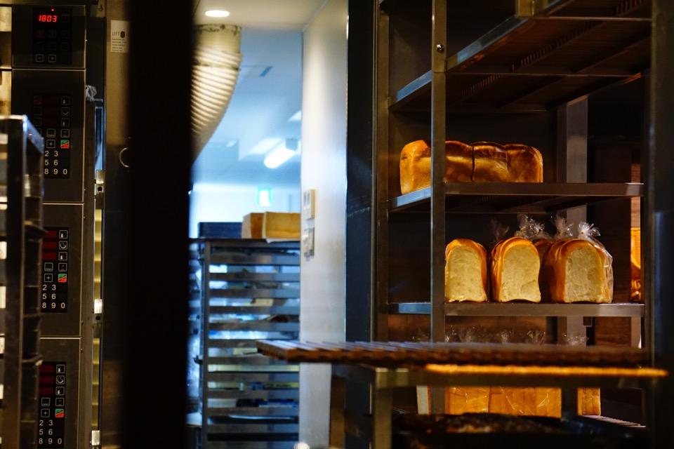 パン屋さん。美味しそうです。