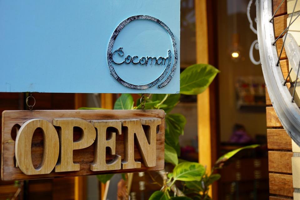 近くにはスコーン専門店「Cocomarl」が。奈良公園でコーヒーと共にいただくのも楽しそう!