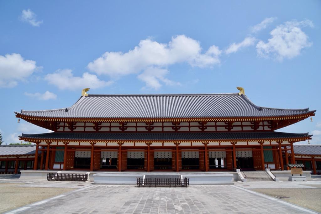 大講堂 とても大きな建物です。
