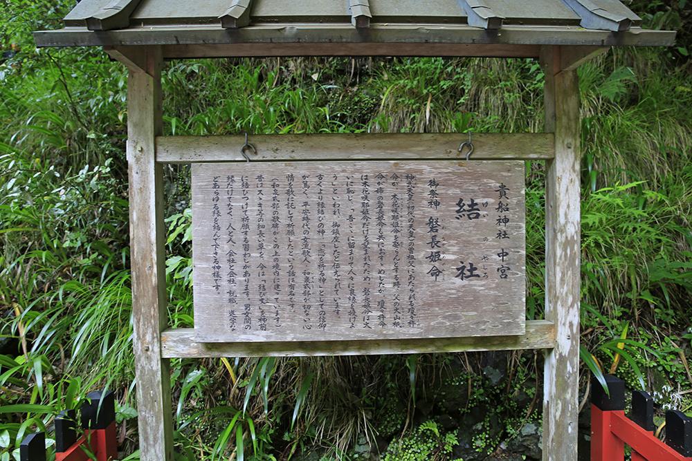 貴船神社 中宮 結社(ゆいやしろ)