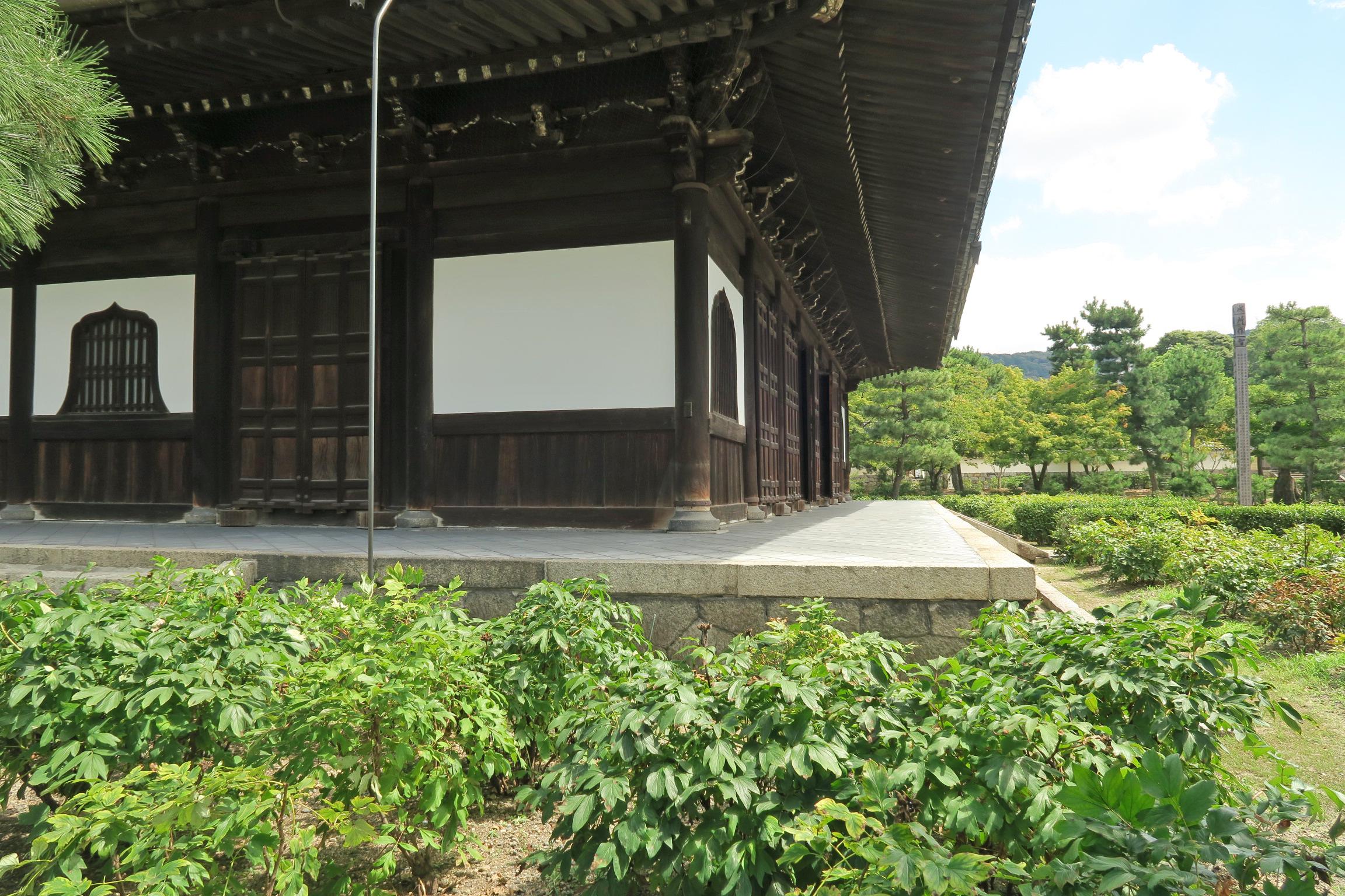 京都五山の第3位に列せられている建仁寺。