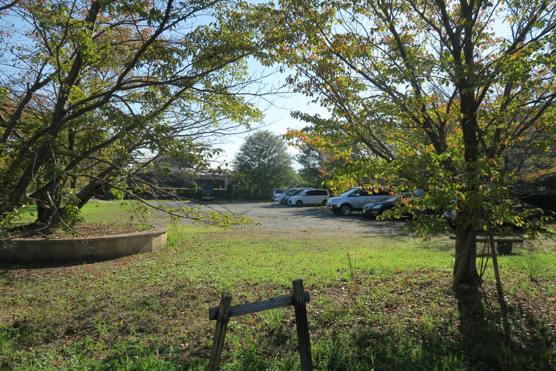 周辺には無料駐車場が用意されています。早朝は問題なく停めることができました。