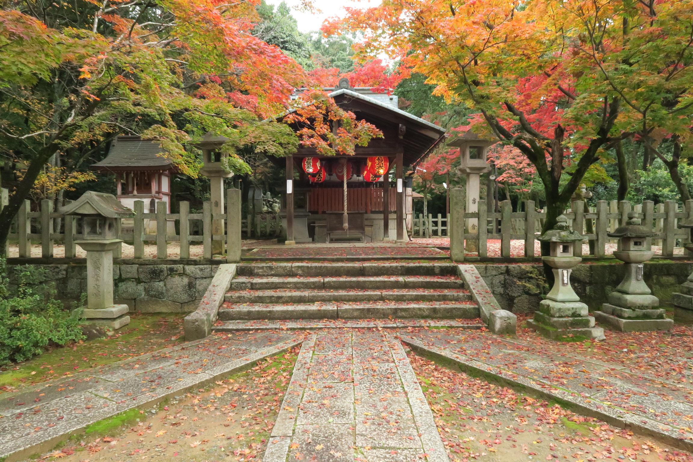 竹中稲荷神社に到着。