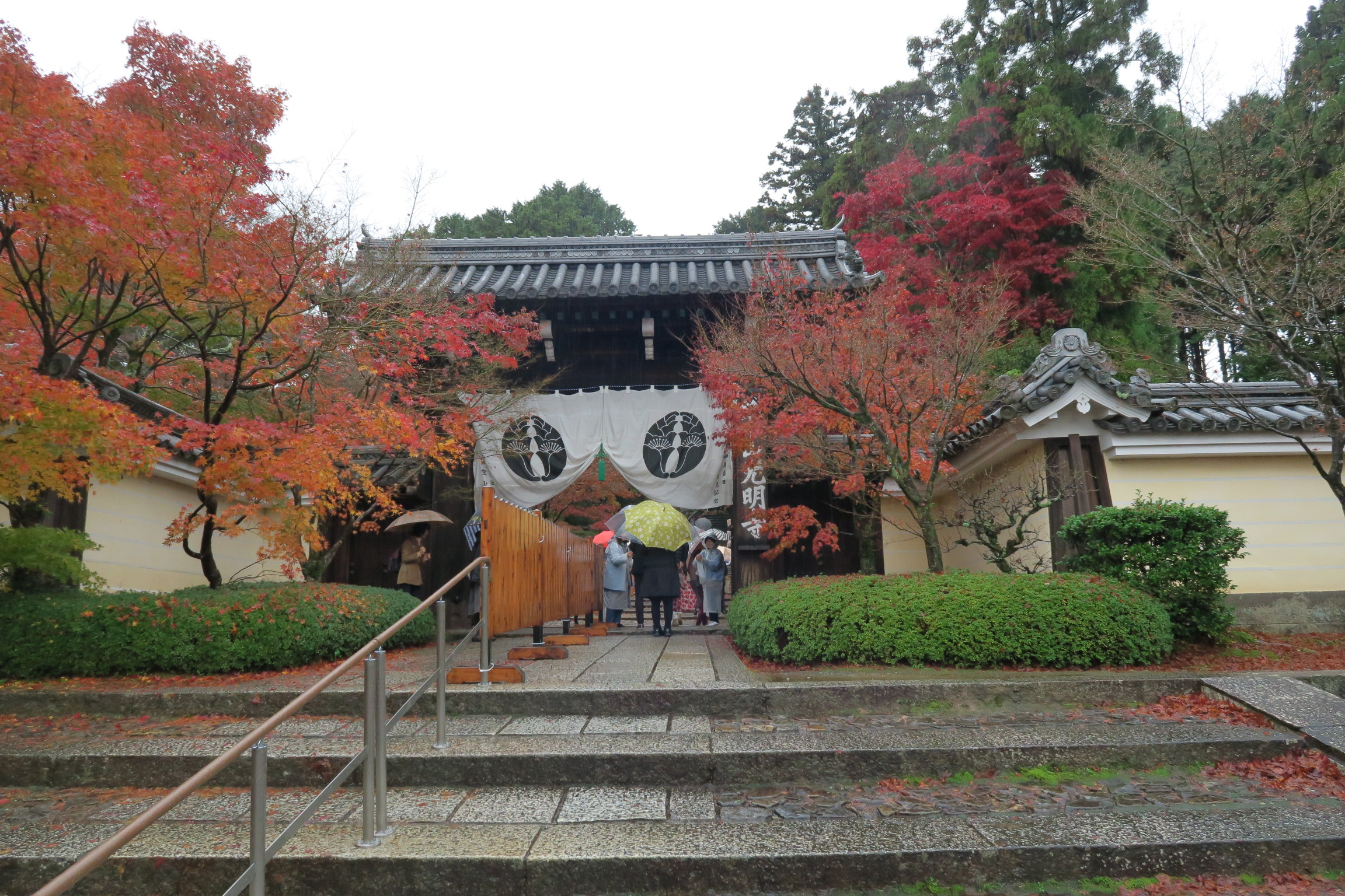 時間もギリギリでしたが、光明寺にも寄ってみました。