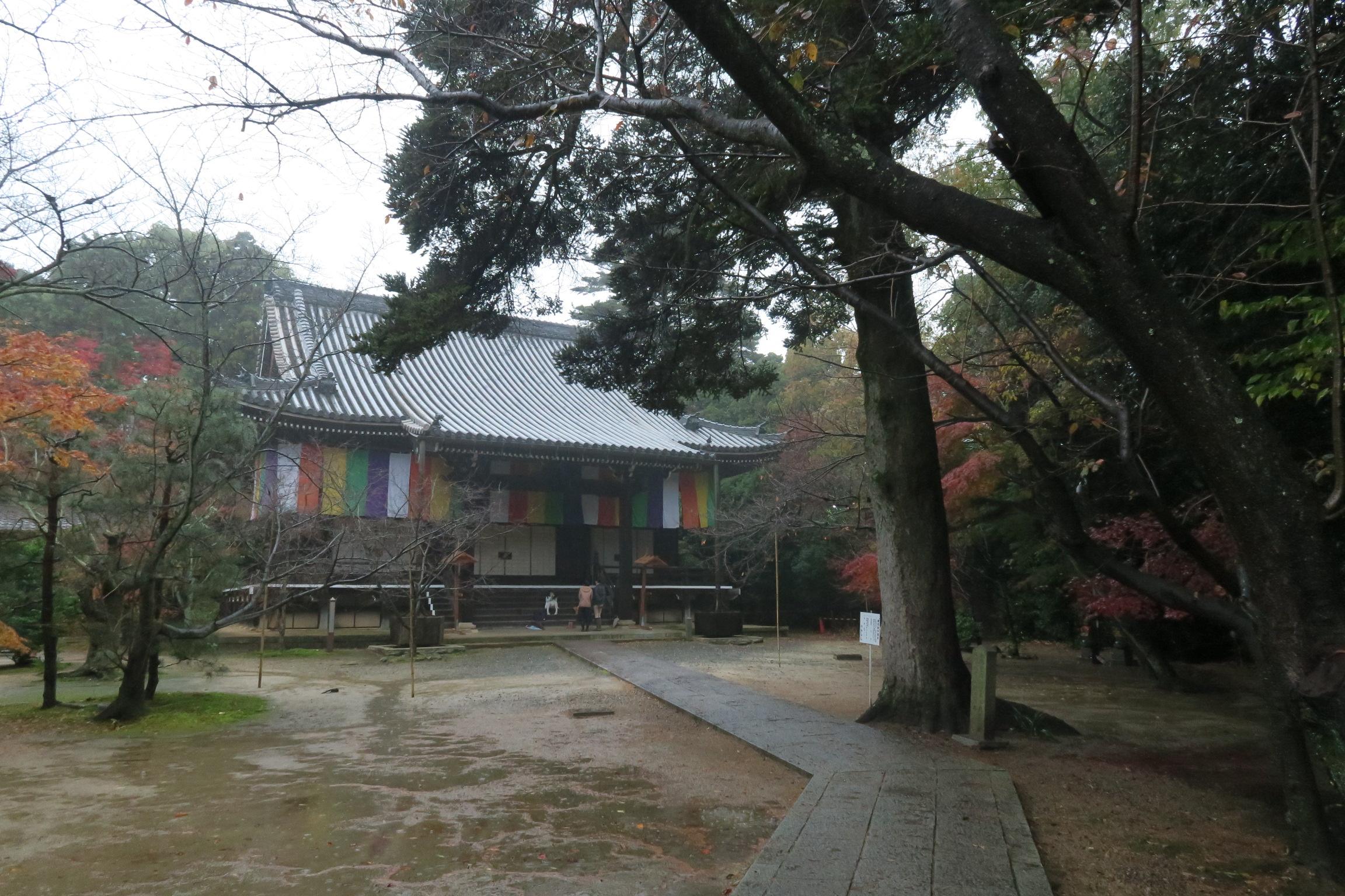 1799年に再建された阿弥陀堂。