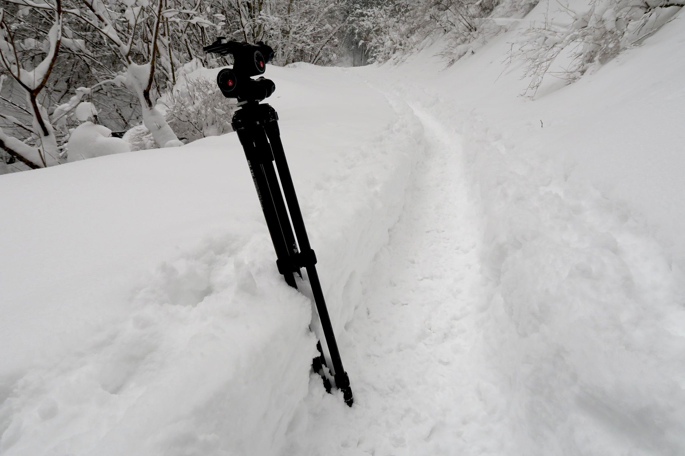 降雪したばかりの日に登山をされた方は大変だったと思います。ラッセルしてくれた方ありがとう!!