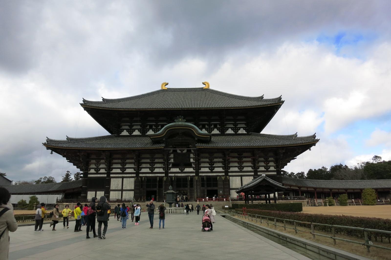 大仏殿に到着です。