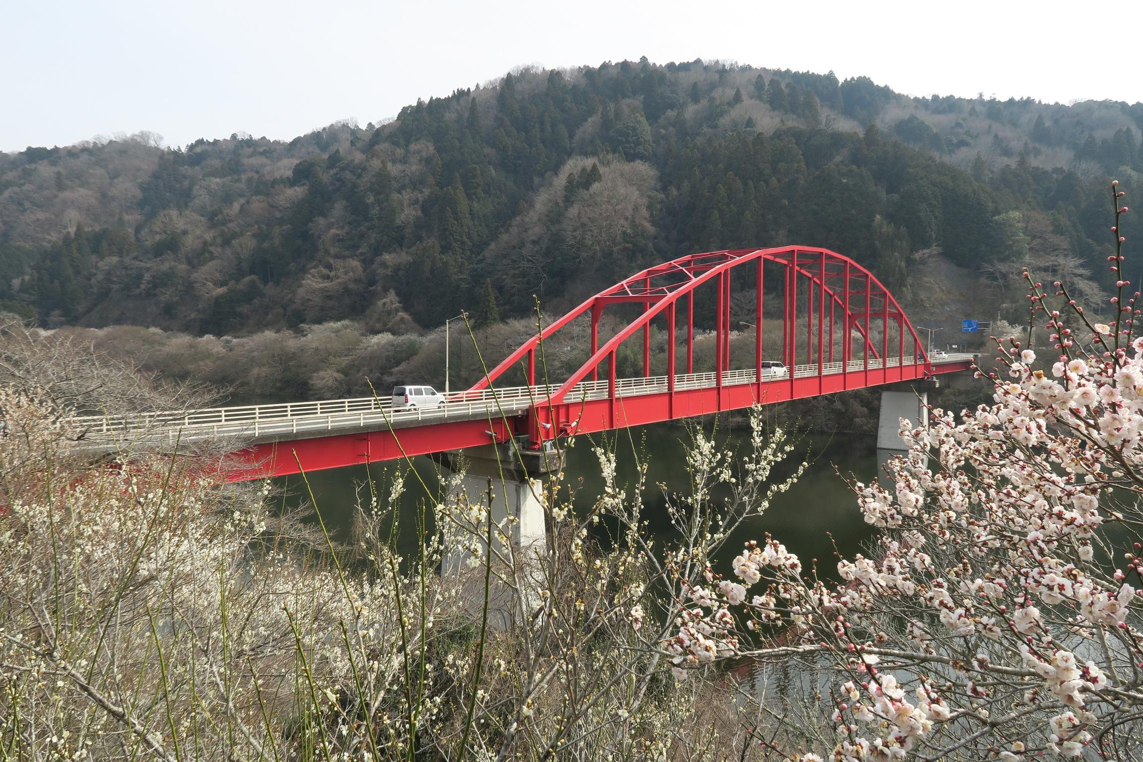 月ヶ瀬橋に到着