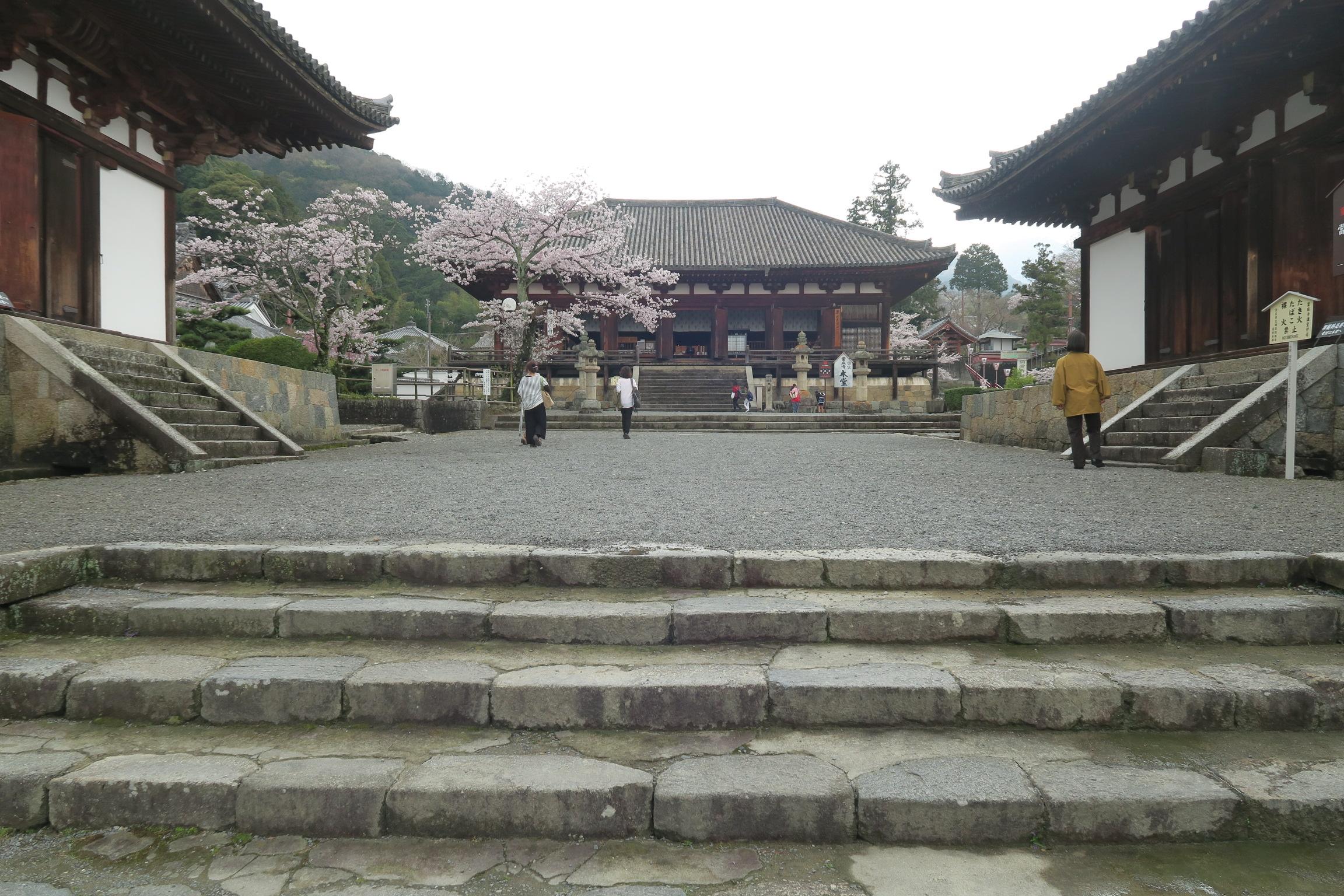 一時、バスツアーのお客さんであふれていましたが、基本的に静かに過ごせるお寺です。