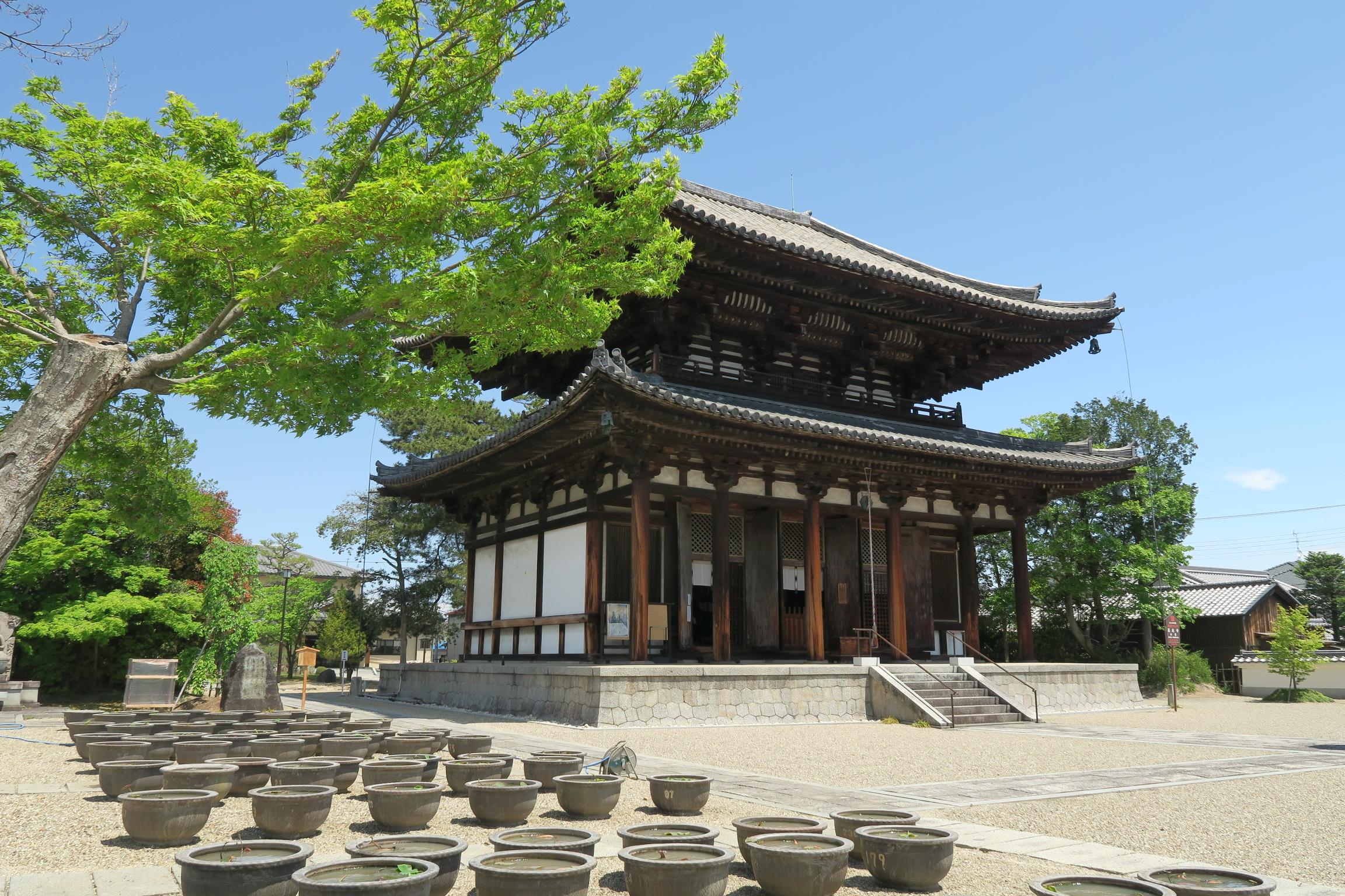 確かに東大寺・大仏殿にそっくりですね。