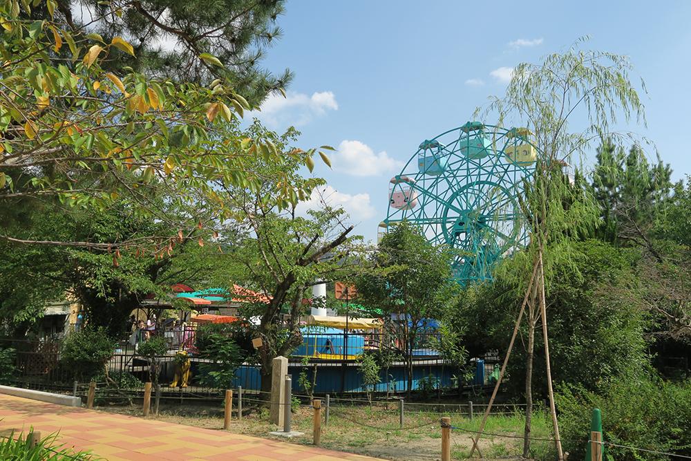 京都動物園 遊園地
