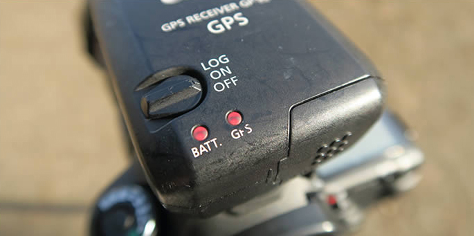 Canon GPS レシーバー GP-E2